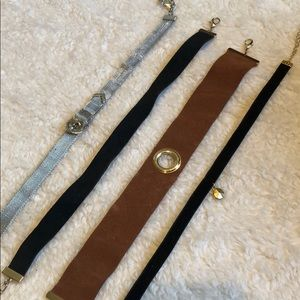 Urban Outfitters Jewelry - BUNDLE of 4 choker necklaces from Zara and Urban